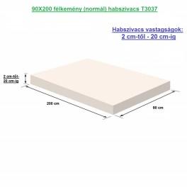 90X200 félkemény (normál) habszivacs