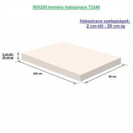 90X200 kemény habszivacs