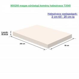 90X200 magas sűrűségű kemény habszivacs