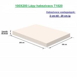 100X200 Lágy habszivacs