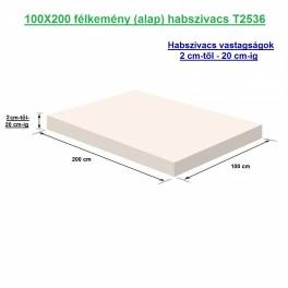 100X200 félkemény (alap) habszivacs