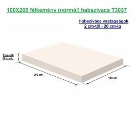 100X200 félkemény (normál) habszivacs