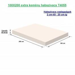 100X200 extra kemény habszivacs