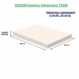120X200 kemény habszivacs