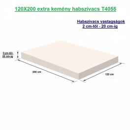 120X200 extra kemény habszivacs
