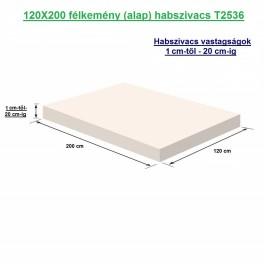 120X200 félkemény (alap) habszivacs