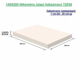 140X200 félkemény (alap) habszivacs