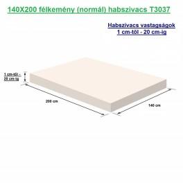 140X200 félkemény (normál) habszivacs