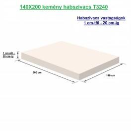 140X200 kemény habszivacs
