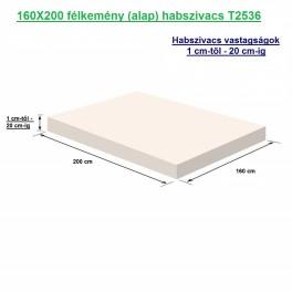 160X200 félkemény (alap) habszivacs