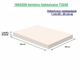 160X200 kemény habszivacs T3240