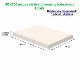 160X200 magas sűrűségű kemény habszivacs