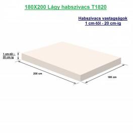 180X200 Lágy habszivacs