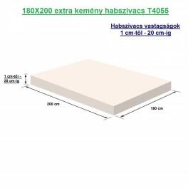 180X200 extra kemény habszivacs