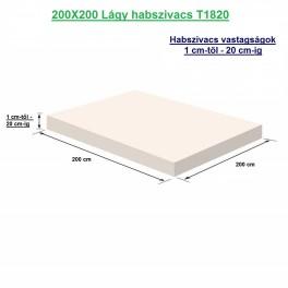 200X200 Lágy habszivacs