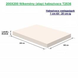 200X200 félkemény (alap) habszivacs