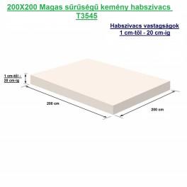 200X200 kemény habszivacs